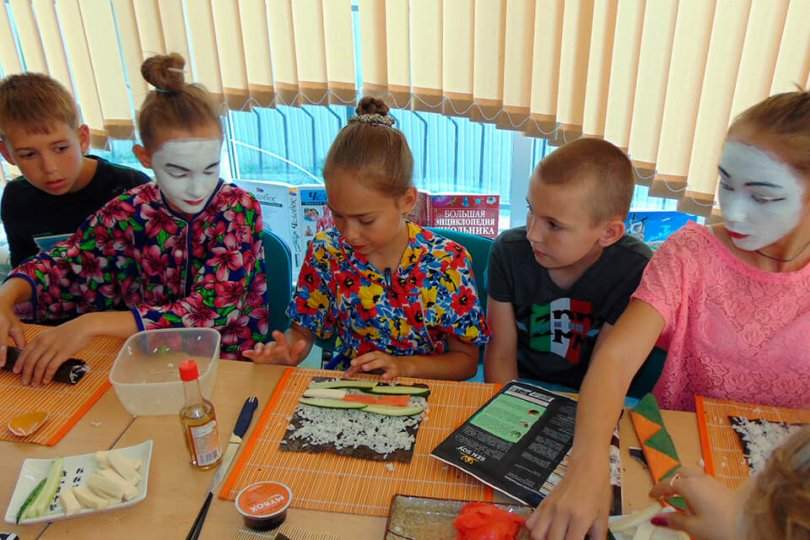 Детская тематическая вечеринка из программы «ЗаМИКСуй лето!» – «Япония-ПЕРЕЗАГРУЗКА»