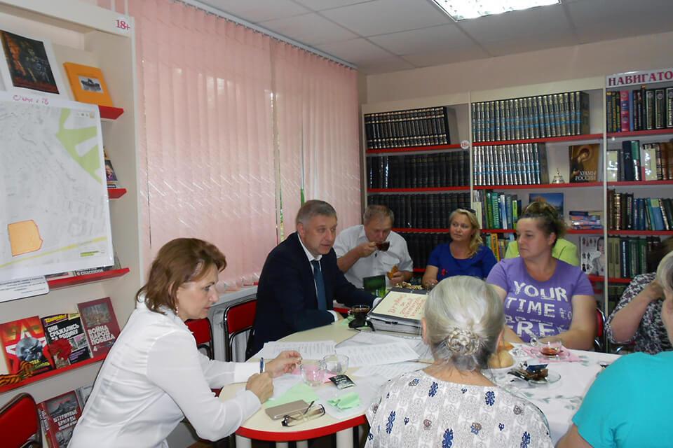 Встреча с депутатом Белгородского Совета 5-го созыва Михаилом Александровичем Бажиновым