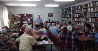 Встреча депутата белгородского городского совета Зеберта А. А. с жителями микрорайона