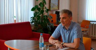 Встреча сзаместителем председателя Избирательной комиссии г.Белгорода Д.В.Сиротенко