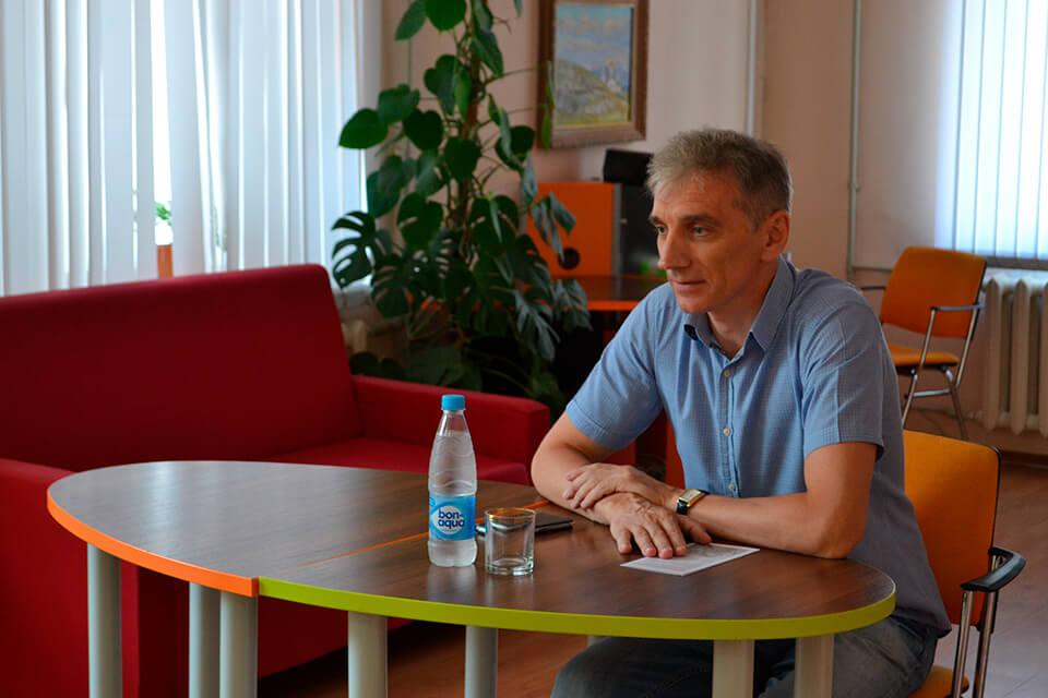 Встреча с заместителем председателя Избирательной комиссии г. Белгорода Д. В. Сиротенко
