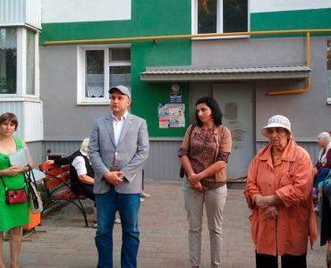 Встреча с кандидатом в депутаты Рязановым А. В.