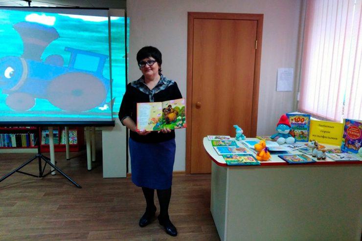 Мультассорти для членов детского библиотечного клуба «Дошколёнок»