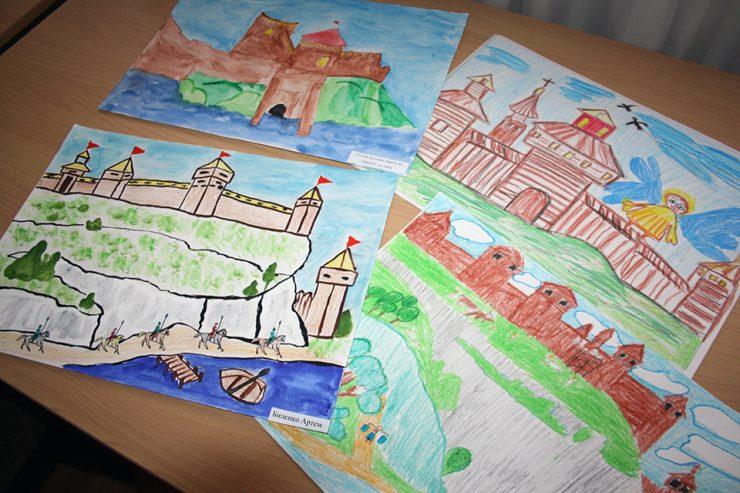 Итоги конкурса детских рисунков «Путешествие в прошлое»