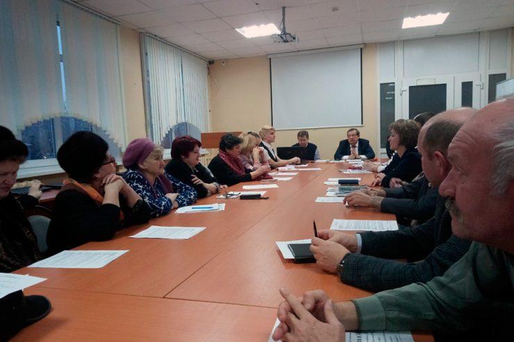 Первое заседание Совета территории № 22 в 2019 году