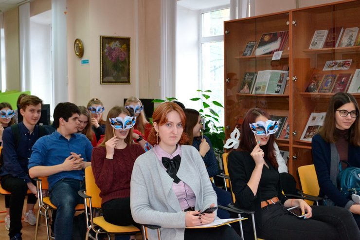 Открытие Недели книги для молодежи